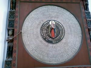 Gdańsk Bazylika Mariacka (zegar astronomiczny).jpg, źródło: Wikimedia Commons
