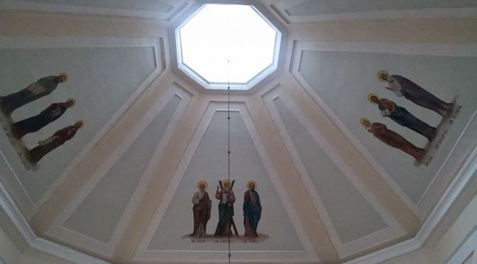 Kościół w czapce widce