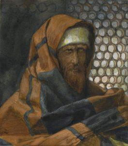 Brooklyn Museum - Nicodemus (Nicodème) - James Tissot - overall.jpg, źródło: Wikimedia commons