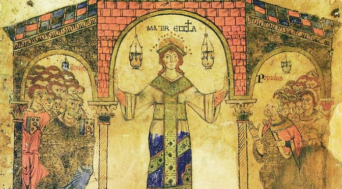 Chrystus ukościelniony, Kościół uchrystusowiony